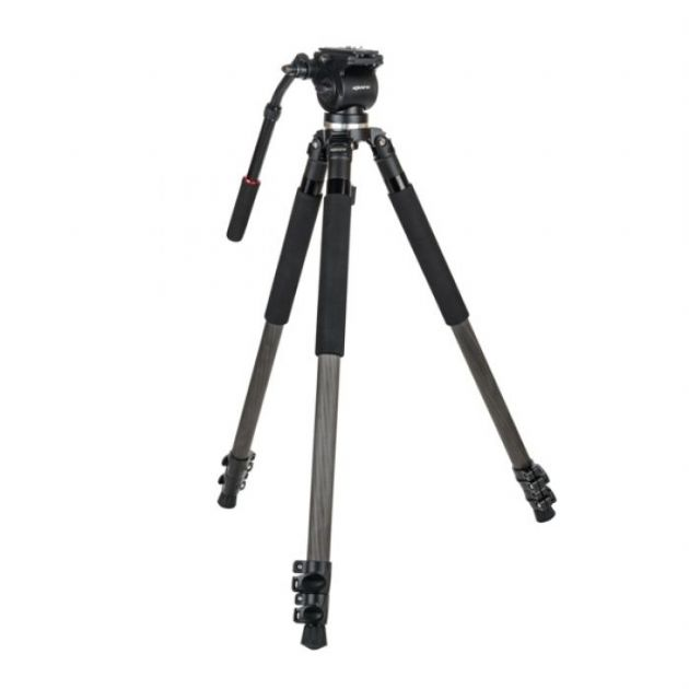 Kenro Standard Video Tripod Kit (Carbon Fibre)